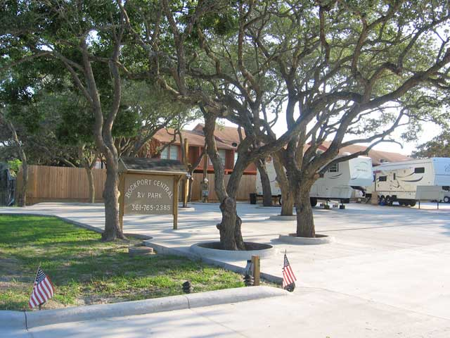 Rockport Central RV Park in TX