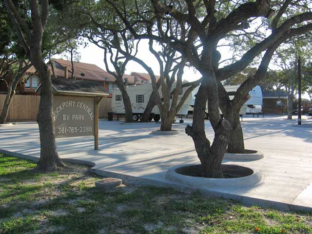 Rockport Central RV Park in Rockport, Texas